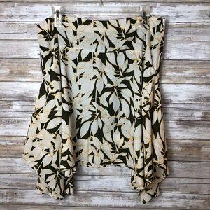 Worthington Scarf Hem Skirt  Size 18
